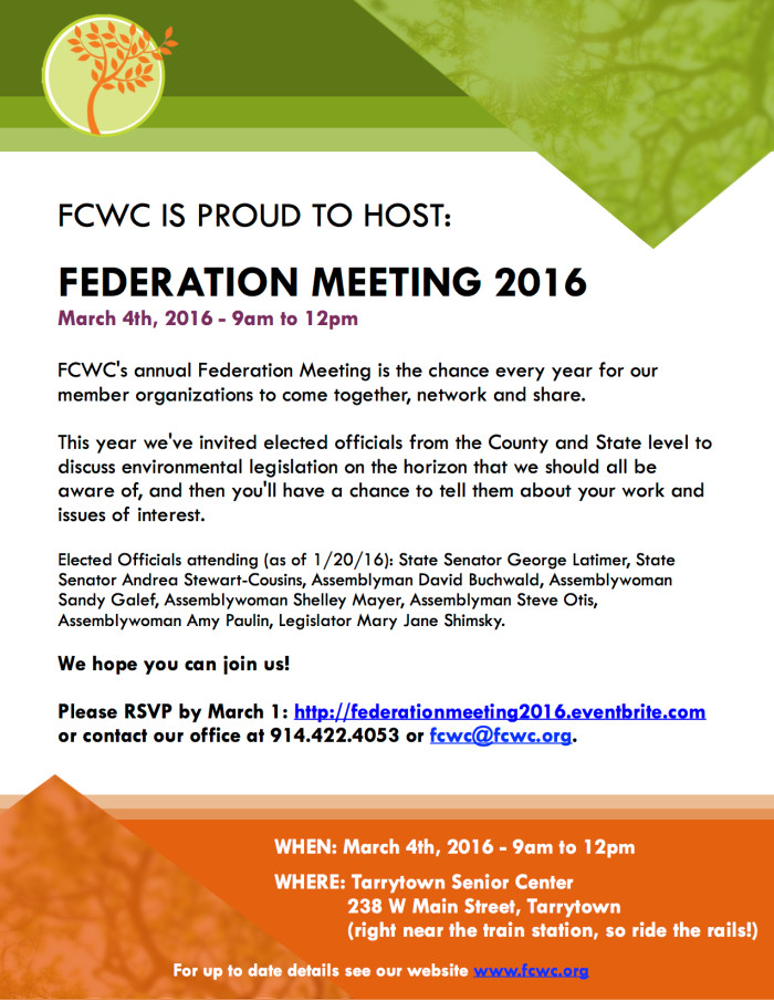 Federation Meeting Flyer